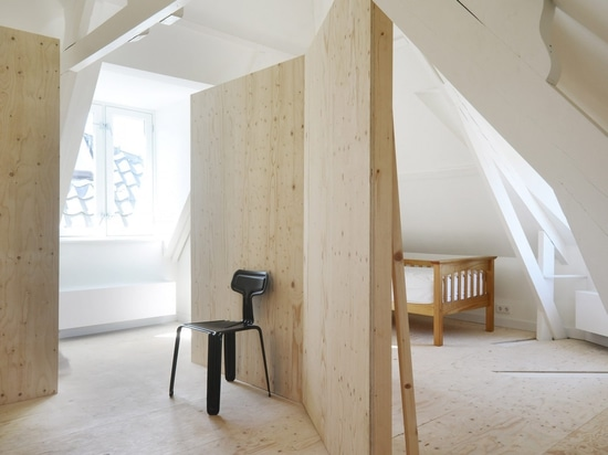 Unknown Architects celebrates original details in renovation of Corner House