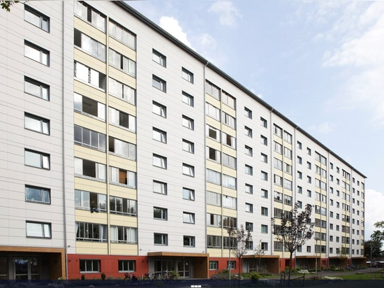 THE FAÇADE AT BRUNNSBO IN GOTHENBURG LOOKS LIKE NEW!