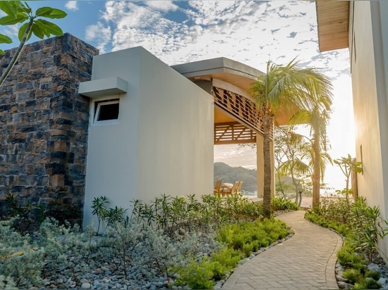 Nicaraguan residential project with our wall cladding Montblanc.