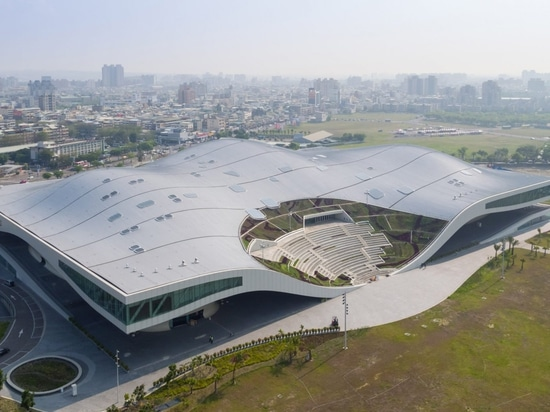 Mecanoo completes world's largest performing arts centre in Taiwan
