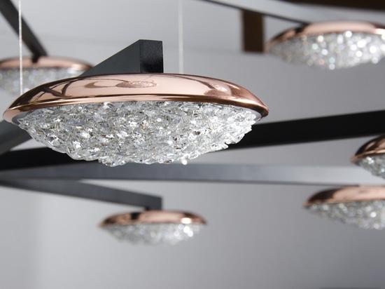 Manooi Origo Star crystal chandelier