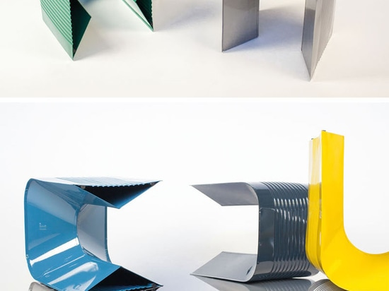 Tin Cans Were The Inspiration Behind The 'PaperThin' Stools By ll'atelier
