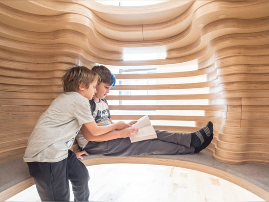 The First WeGrow School In New York Is Filled With Secluded Spaces
