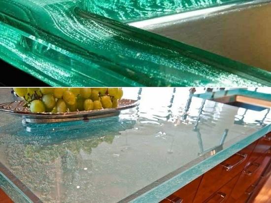 Aqua or Crystal Glass