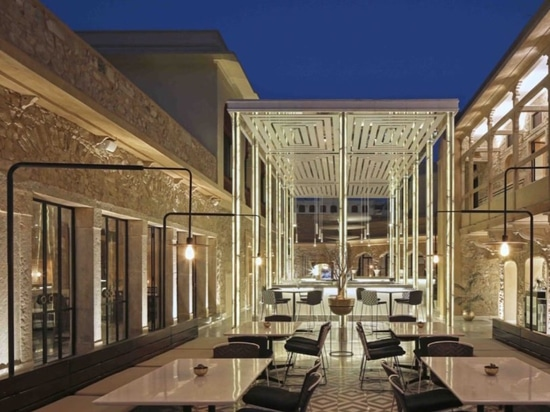 An ancient Jaipur palace property is transformed into a modern restaurant