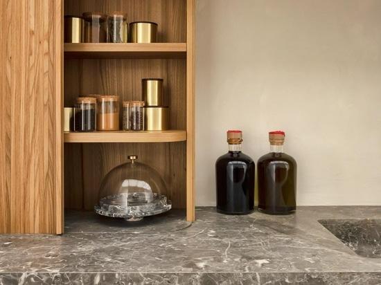 Neuschwanstein Castle's servants' kitchen inspire new utilitarian Belgian design