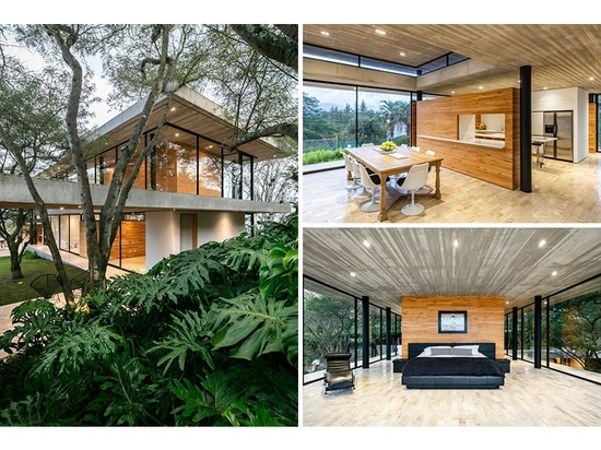 The Design Of The Tacuri House Was Inspired By The Surrounding Landscape