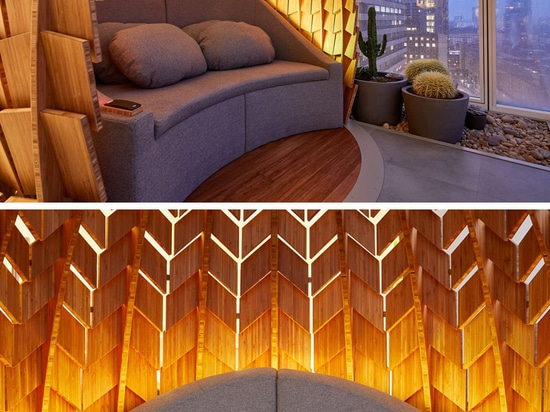 These 'Regeneration Pods' Provide A Place For Employees To Relax And Meditate