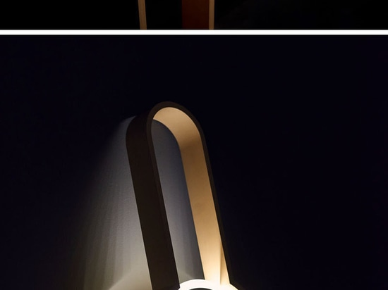 Portal Is A Lamp That's Neither A Sconce Nor A Floor Light, But It Can Act As Both
