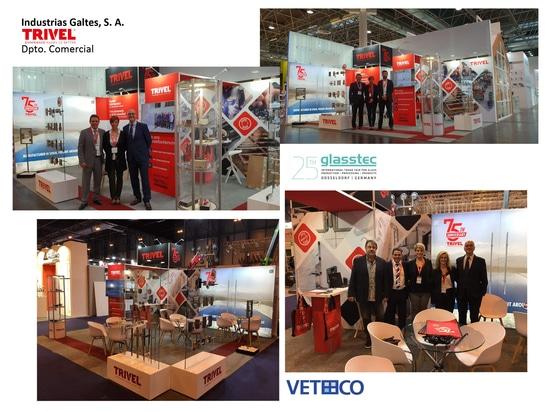 Trivel in Glasstec & Veteco 2018