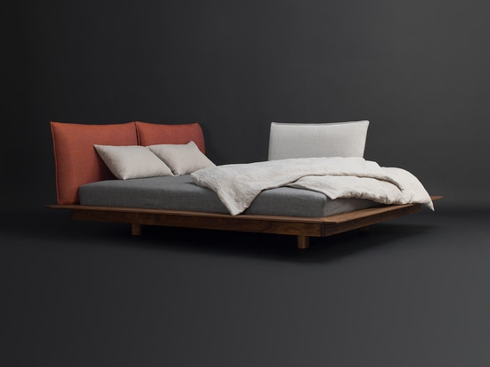 YOMA bed designed by Kaschkasch