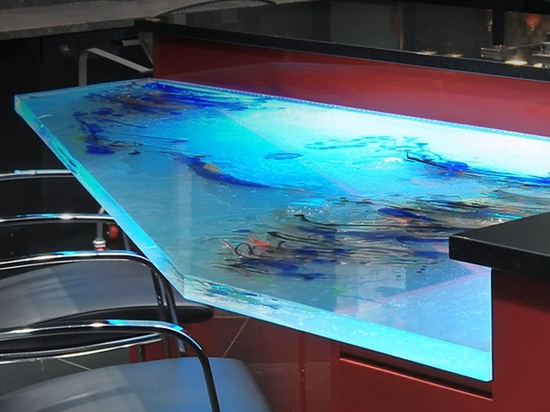 Artistic Glass Countertop