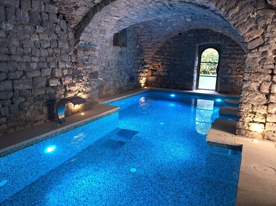 Starlike® by Litokol in the spa of the Saint Félix castle
