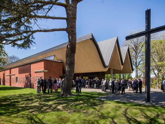 St Andrew's College Centennial Chapel by Architectus won the John Scott Award