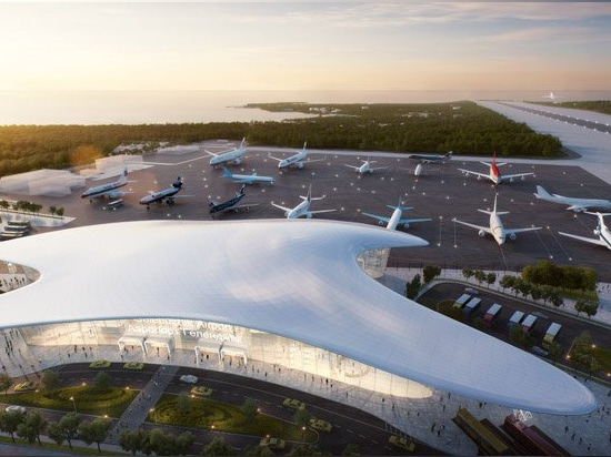 studio fuksas reveals winning design for the new gelendzhik airport in russia