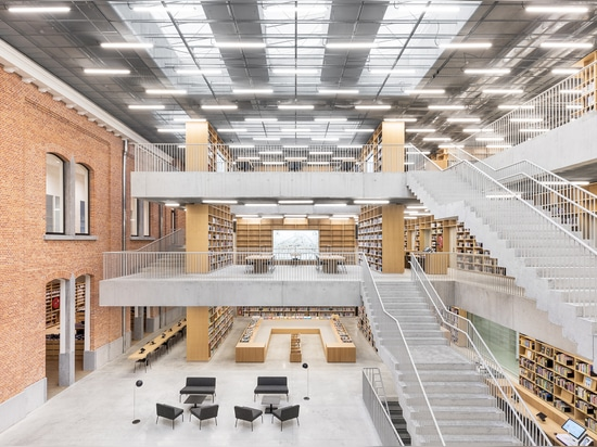 UTOPIA - LIBRARY AND ACADEMY FOR PERFORMING ARTS, BELGIUM