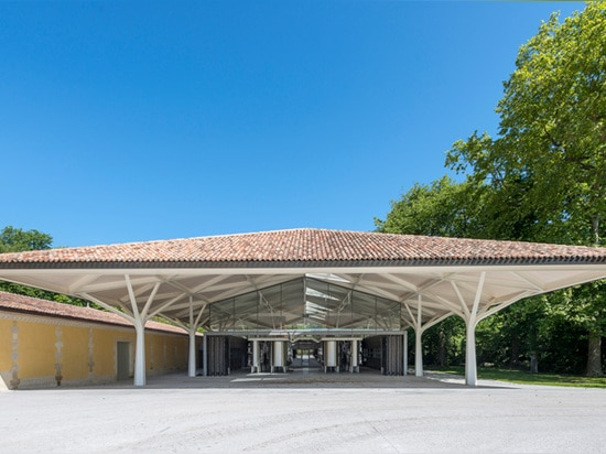 the pitched roof contains an open flexible space below