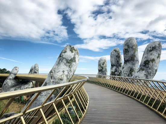 Golden Bridge in Da Nang, a Land of Gods