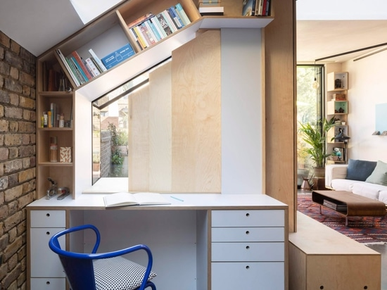 Rise Design Studio remodels London garden flat to maximise storage and light
