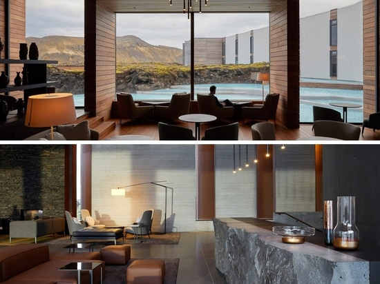 The Retreat at Blue Lagoon in Iceland. Courtesy of Basalt Architects.