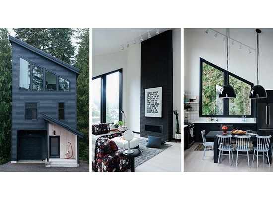 The Alpine Noir Chalet Sits In The Mountains Of Oregon