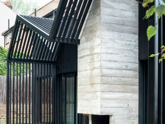 A Contemporary Extension Was Added To This Home In London