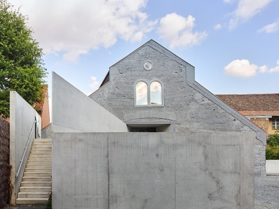 Concrete grafts give new life to a former distillery and slaughterhouse