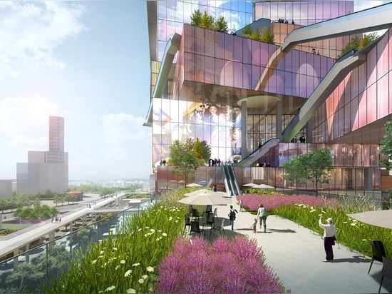MVRDV envisions screen-covered towers as Times Square of Taipei
