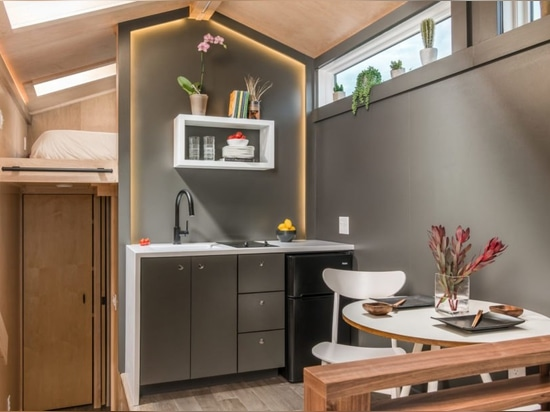 This luxurious tiny home is powered by Southern Californian sunshine