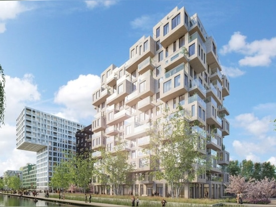 MVRDV to transform an Amsterdam office complex into a green residential zone