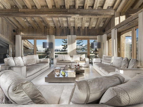 Courchevel, a Paradise of Chalets In The French Alps