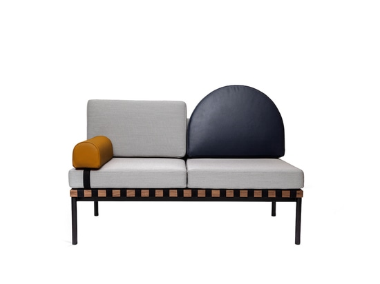 POOL DEBUTS MODULAR SOFA / DAYBED FOR PETITE FRITURE