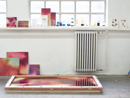 MEIKE HARDE'S VIBRANTLY TINTED TABLES