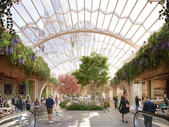 heatherwick studio and SPPARC get green light for £1 billion olympia london overhaul