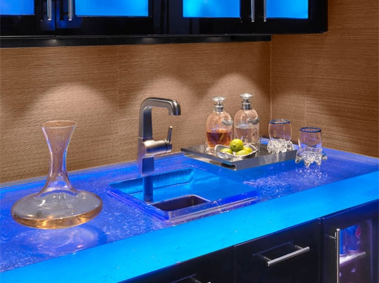 Glass Bar Counters