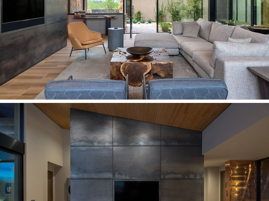 The Painted Sky Residence by Kendle Design Collaborative