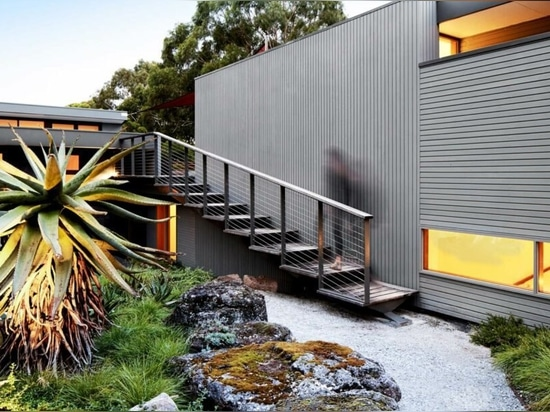This Australian property was redesigned with a sustainable, lush garden