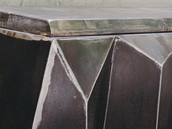 BRUTALIST Bench (detail)