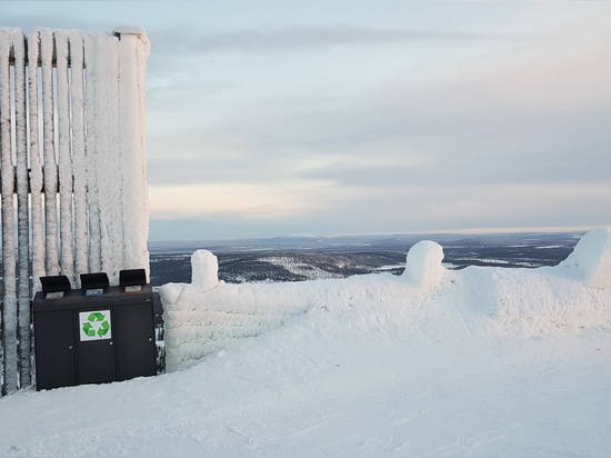 Levi Ski Resort in Finland recycles with Cervic Environment