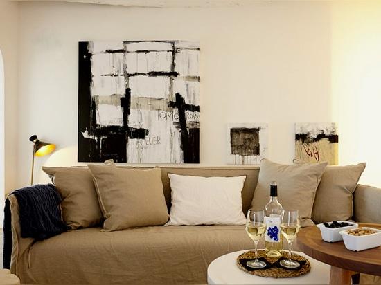 Tomorrow painting _ Hotel Mas Lazuli (Costa Brava-Spain)