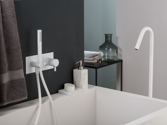 New frontiers in design faucets: Ritmonio at ISH 2019