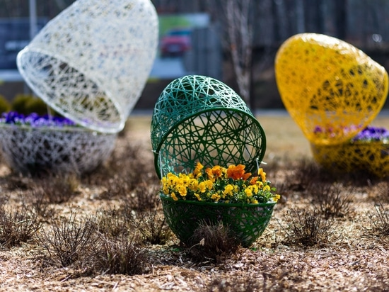 Easter decorations for cities- review of possibilities