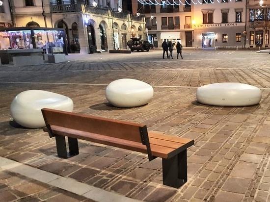 The squares of Tolmezzo