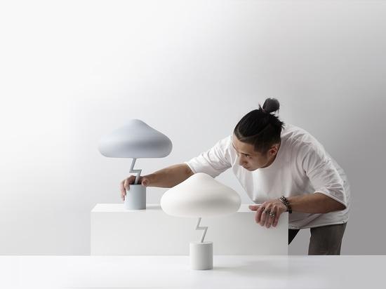 Jinyoun Kim Has Designed The Lightning Lamp