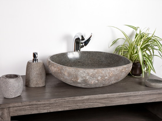 Five reasons to choose a natural riverstone sink