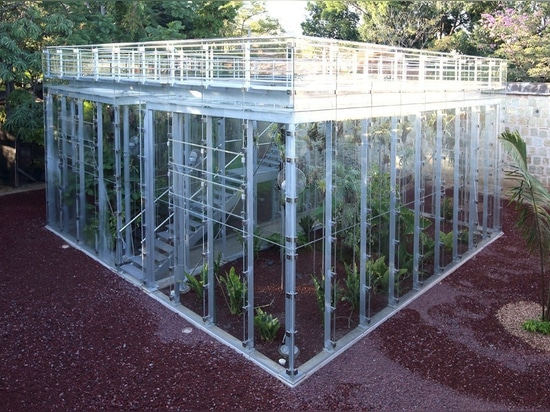 Zero energy orchid house is designed to educate about Oaxaca's biodiversity
