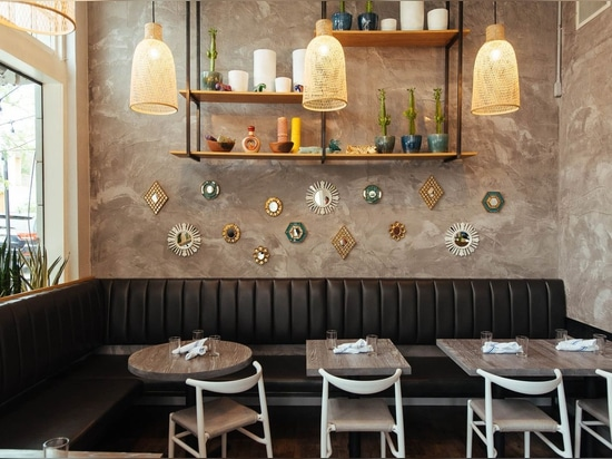 Latin-inspired Bar-Restaurant Project in Denver feat. JOI Twenty Upholstered Chairs by TOOU.