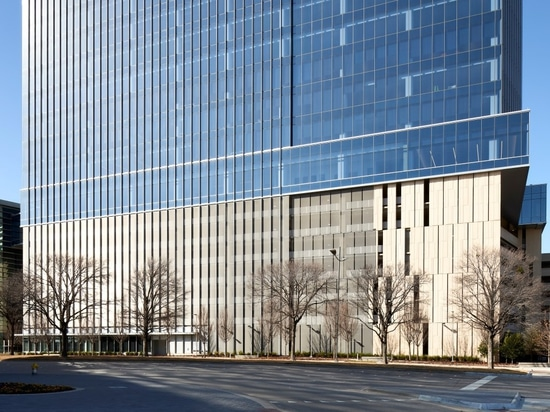 LEED Silver certified office building with HAVER Architectural Mesh