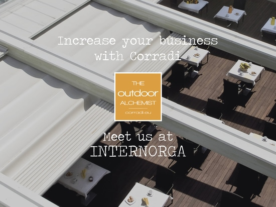 Discover the importance of outdoor spaces in the hospitality sector with Corradi.