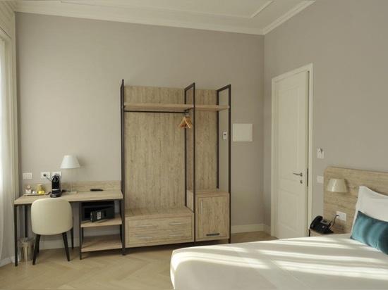 Mobilspazio has funrished Bergamo Inn 43 with the new URBAN line